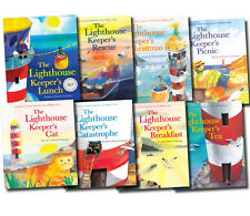 The Lighthouse Keeper's Lunch Collection 8 Books Set Cat, Picnic, Tea, Rescue