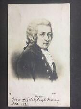 Vintage Postcard: Historical Figure: #A20 : Mozart