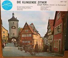 "JOSEPH HAFFNER - DIE KLINGENDE ZITHER - 4 TRACK EP MEP 1128 METRONOME 7"" VINYL"