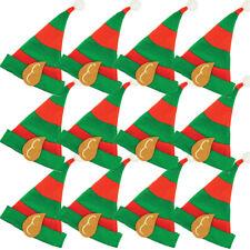 Kinder Jungen Mädchen Elfe Weihnachtsmann Helfer Weihnachten Hut Massenkauf