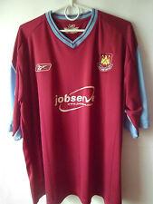 2003-05 West Ham Home Shirt Jersey Trikot XXL