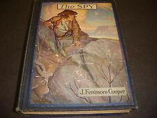 1924 The Spy, James Fenimore Cooper, Illustrated C.LeRoy Baldridge,HC Bk