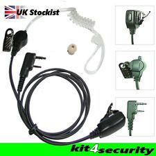 Icom two wire door supervisors ear piece with small PTT