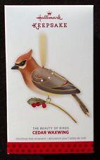 2013 Hallmark Cedar Waxwing Beauty of Birds 9th in Series - MIB