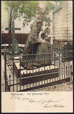 Colorierte ak hannover el dinamitadas tumba corriendo 24.1.1904 Hannover-Dresden