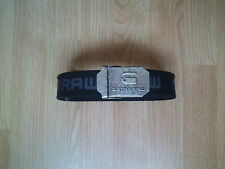 G STAR, G-STAR RAW CANVAS BLACK BELT,NEW NO TAGS, 2 FOR £14.99!