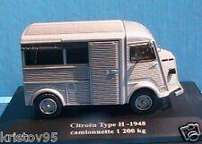 CITROEN TYPE H 1948 CAMIONNETTE TOLE 1200KG ELIGOR 1/43