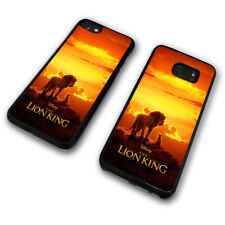 Lion King Simba Mufasa Africa Sunset Sunrise Disney Phone Case Cover