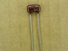 10 condensateurs Silver Mica 150pF 100V 5/%