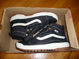 Vans Ultrarange Exo HI All Weather MTE Sneakers Mens 8.5 Black NEW