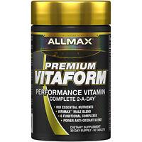 ALLMAX Nutrition  Vitaform  Premium MultiVitamin For Men  60 Tablets