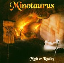 MINOTAURUS - Myth Or Reality CD 2004 + free sticker Ancient Epic Metal