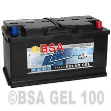 Blei Gel Batterie 100Ah 12V USV Solarbatterie Boot Wohnmobil Versorgungsbatterie