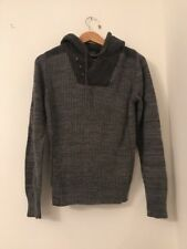 Men's Jumper Size S Grey Long Sleeve Next Casual <JJ2994