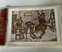 Anthony Gruerio Cunningham Art Print Blacksmith 8x7 Vintage Art Treasures 53642