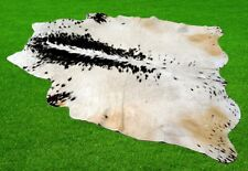 """100% New Cowhide Rugs Area Cow Skin Leather (51"""" x 56"""") Cow hide Sa-210"""