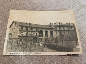 IVREA Torino Cartolina Fotografica Viaggiata anni 40 LA BODOIRA CASA