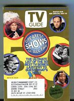 TV Guide Magazine May 4-10 2002 Greatest Shows EX w/ML 121516jhe