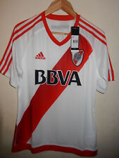 New CARP River Plate white home shirt 2016-17 Adidas BNWT Size L Large