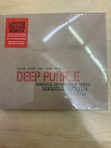 DEEP PURPLE Live Newcastle Australia CD (2 Discs) Limited Numbered NEW & SEALED
