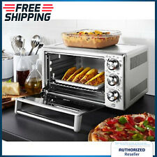 Convection Oven Toaster Pizza Bake Broil Large Counter Top W/ Adjustable Rack