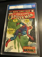 amazing spiderman 128. 20 Cents CGC 9.2 OFFwhite pages - beautiful 46 YO comic