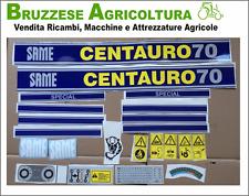 Serie Decalcomanie Per Same Centauro 70 Special