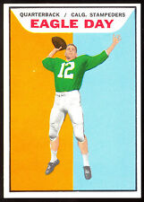 1965 TOPPS CFL FOOTBALL #19 EAGLE DAY NM MINT MT CALGARY STAMPEDERS Mississippi