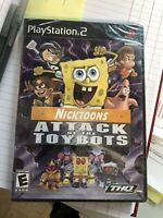 NEW Nicktoons: Attack of the Toybots (Sony PlayStation 2 2007) PS2 Spongebob NOS