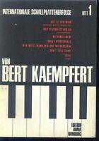 Internationale Schallplattenerfolge von BERT KAEMPFERT - Heft 1