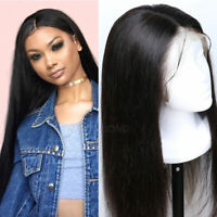 Glueless Malaysian Remy Human Hair Wig Silk Top Base Full Lace Wig Long Straight