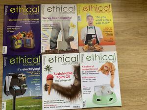 Ethical Consumer Magazines x 6 . Jan 2015 To Dec 2015.