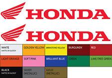 "2X HONDA Vinyl Sticker Decal 8"" Car Logo Racing"
