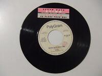 "Sting / Leila K – Seven Days - Disco Vinile 45 Giri 7"" Ed.Juke Box + Stickers"