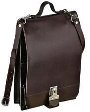 Épaule messenger sac vintage militaires de l'armée étui en cuir cartable rétro école