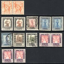 (A-810) Libya - 1924-1931 - mix of mint and used