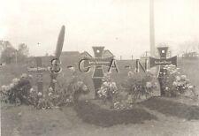 WWII Original German Luftwaffe RP- Pilot Grave- Airplane Propeller- Iron Cross