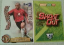 SHOOT OUT CARD 2003/04 (03/04) - Green Back- Manchester United -Mikael Silvestre
