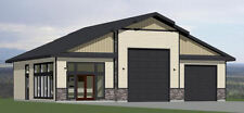 50x42 1-Car 1-RV Garage 1 Br 1 Ba - PDF FloorPlan - 1,973 sqft - Model 1D