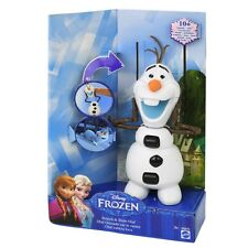 Mattel DGB75 Disney Frozen Die Eiskönigin - Rutsch- und Wackelspaß Puppe Olaf