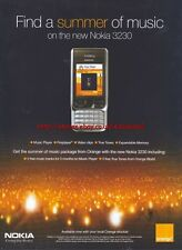 "Nokia ""Summer Of Music"" Orange 2005 Magazine Advert #3890"