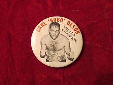 Carl Olson BOBO world champion boxer 1953-55 Middleweight