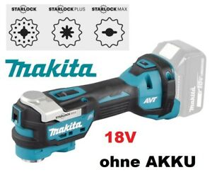 Makita 18V DTM52Z Starlock oh. Akku Multifunktionswerkzeug Multitool Oszillation