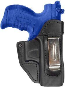 IWB 2 Leder Holster für Walther P22 versteckte Trageweise schwarz VlaMiTex