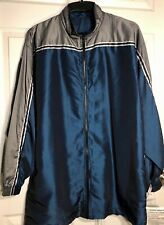 GK ELITE WARM UP JACKET MENS X-LARGE BLUE IRIDESCENT NYLON Sz AXL WAS $85.95! It