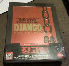 Django Unchained Korean  STEELBOOK bluray with Comic