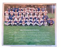 Randy Johnson- 1988 Indianapolis Indians MiLB Team Pic