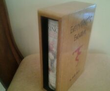 STEPHEN KING EVERYTHING EVENTUAL 1Ed REMARQUED McVey, Wells, CHADBOURNE Slipcase
