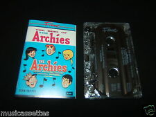 THE ARCHIES THE BEST OF THE ARCHIES AUSTRALIAN CASSETTE TAPE