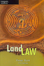 Land Law by Peter Butt (Paperback, 2005)